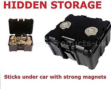 CPUK) Caja fuerte magnética contenedora con llave segura ...