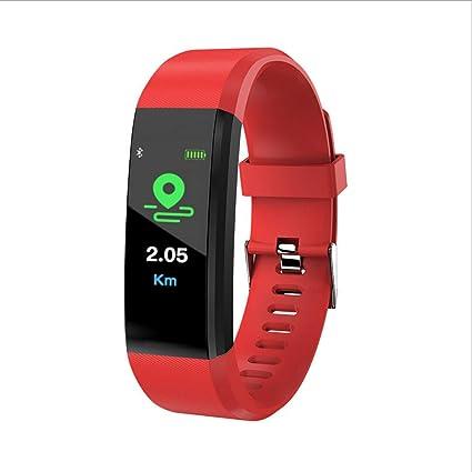 Amazon.com: Star_wuvi Fitness Tracker Color Screen Heart ...