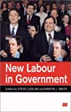 New Labour in Government, Steve Ludlam, 0333761006