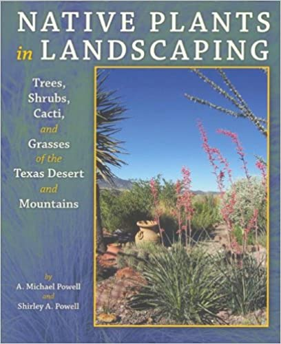 Native Plants in Landscaping: Trees, Shrubs, Cacti, And Grasses of the Texas Desert And Mountains