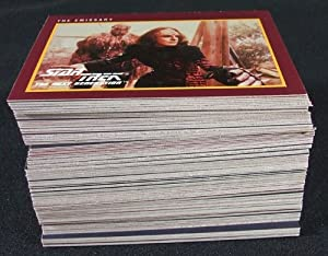 1991 Impel Star Trek Series 2 Trading Card Set (#161-310) Nm/mt