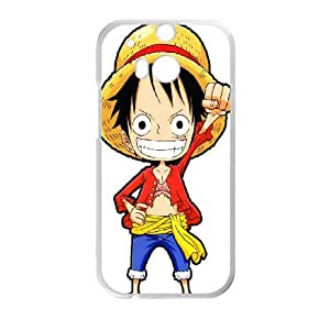 DIY Printed Monkey¡¤D¡¤Luffy hard plastic case skin cover For HTC One M8 SN9V692223