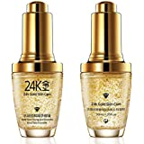 BIOAQUA 24K Gold Essence Collagen Skin Face Moisturizing Hyaluronic Acid Mask