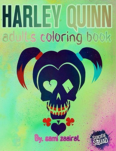 Harley quinn: adults coloring book -