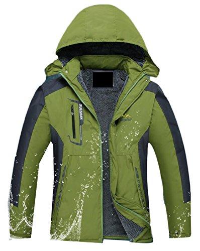 Jackets Slim Fit 1 Men's Outdoor Waterproof Zipper Generic YqR5awxAn