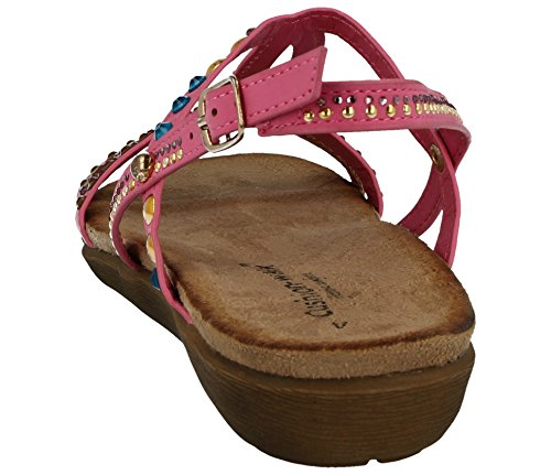 Cushion Rose pour Walk Sandales Femme Cushion Walk pqY1M5