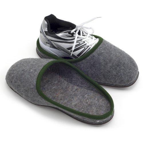 Caoutchouc en Chaussures avec d'Intérieur Semelles Sur chaussons pour wq0ZZA