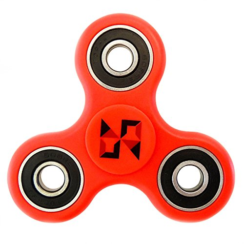 Tri Fidget Spinner | Anxiety Relief Toy | Promotes Stress Relief and Focus | ADD, ADHD, Autism | Handheld, Pocket-Size Gadget | Smooth, Quiet Spinning|Nabbz Creations