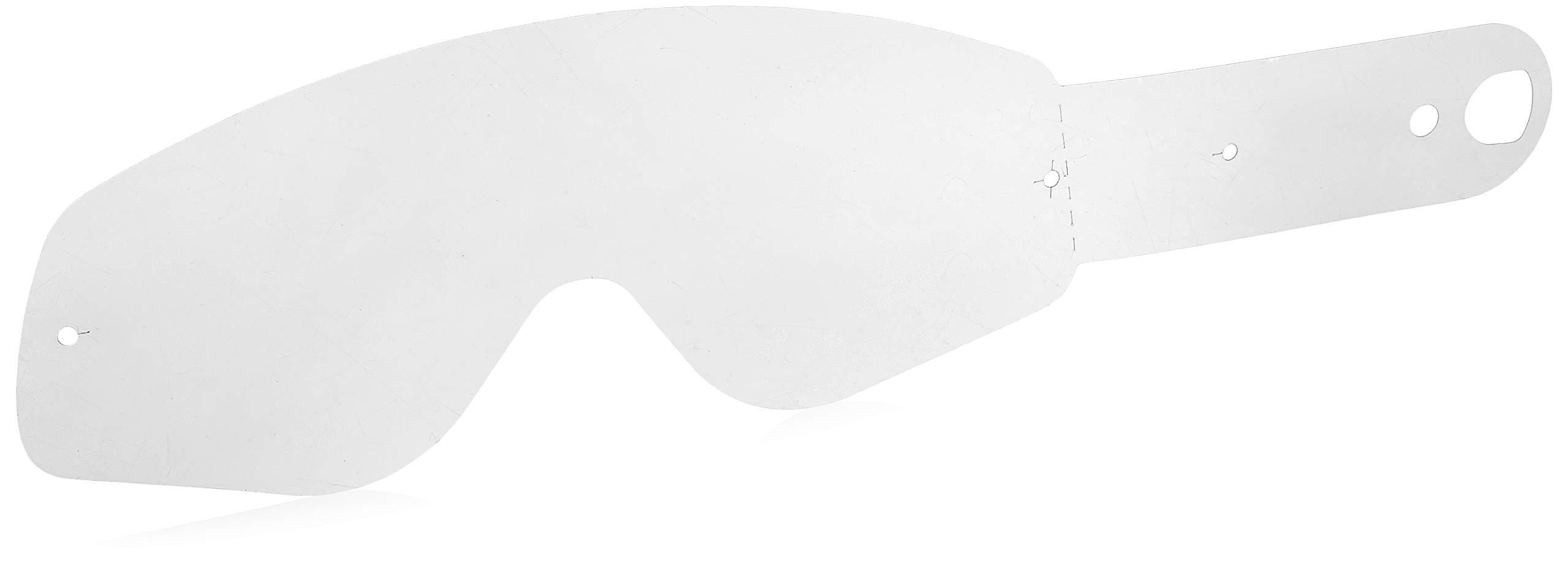 Oakley Crowbar MX Tear-Off (Pack of 25) (Clear)