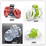 Teriya New 3D Design Natural Resin Small Male Chastity Device Penis Cage with 4 Size Cock Ring BDSM Sex Toys For Men Bondage Cock Lock