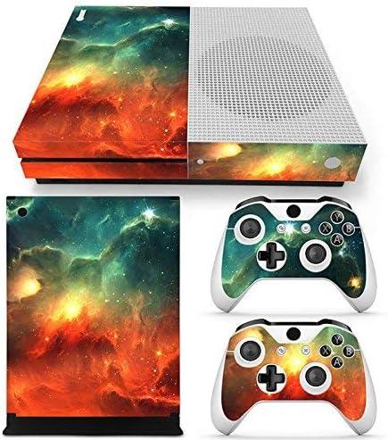 46 North Design Xbox One S Pegatinas De La Consola Galaxy + 2 Pegatinas Del Controlador: Amazon.es: Videojuegos