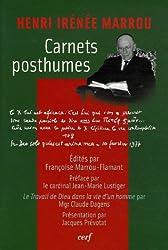 Carnets posthumes