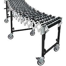 Skate Wheel Conveyor, 26-3/16Inx2 to 8ft