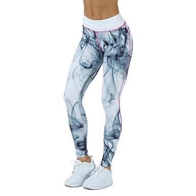 PAOLIAN La Mujer Pantalones De Deporte, Mujer Deportes Gimnasio Yoga Rutina De Ejercicio Cintura Media Corriendo Pantalones Aptitud EláStico Polainas: ...