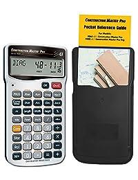 Calculated Industries 4065 Construction Master Pro   Calculadora de fracciones de construcción avanzada