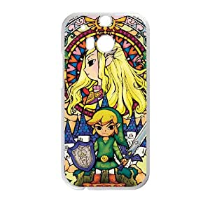 HTC One M8 Cell Phone Case White Legend of Zelda kxnx