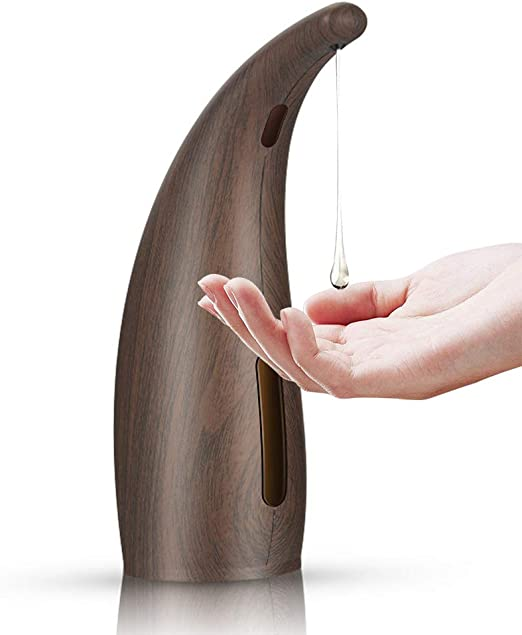 400ML Getue Seifenspender Automatisch Elektrischer Seifenspender mit Sensor Automatischer Seifenspender f/ür K/üchen und Badezimmer