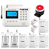 Fuers F-Q2 433mhz Wireless GSM PSTN SMS Voice Recording Home Burglar Alarm System Wired Siren Wireless Door Sensor Automation Garden Alarm System APP Control Double Antenna Strong Signal