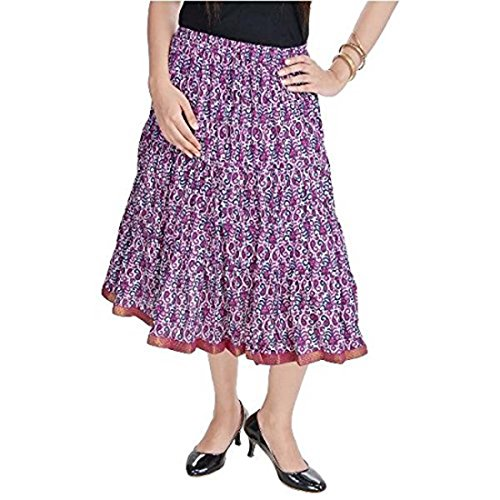 Multi Short SMSKT573 Women Indian Skirt Handicrfats Export Cotton AvWSYZq