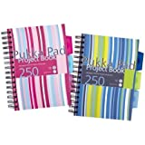 Pukka Pad Design A5 Project Book - Spiral Wirebound Note Pad