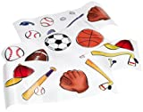 Let's Play Ball Wall Stickers Set