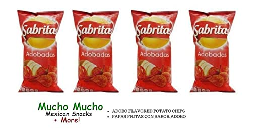 Amazon Com Sabritas Mexican Chips 4 Pack Assorted Variado