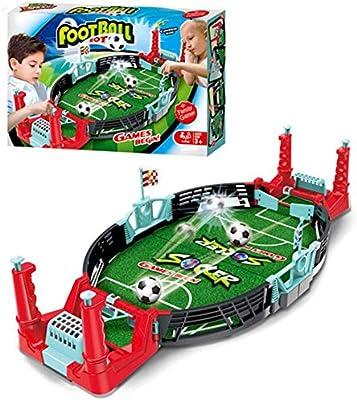 MezoJaoie Mini Soccer Game, Mini Tabletop Soccer Game Desktop Mini ...