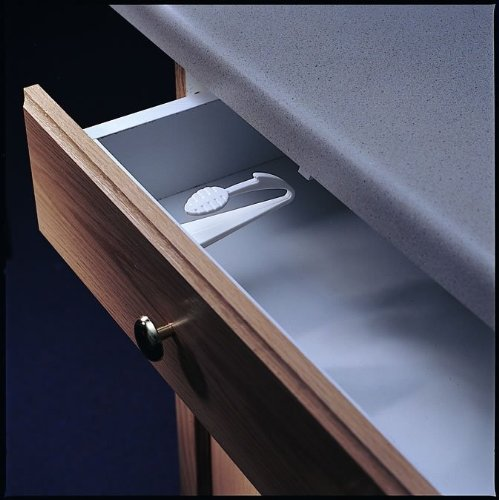 Kidco Adhesive Mount Cabinet and Drawer Lock, 12 ct. by KidCo (Image #3)