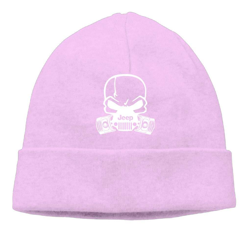 Jeep Skull Gas Mask Beanie Hat Knit Cap Men