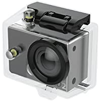 """Voyager HD Action Camera With Waterproof Case Underwater Sports Camera SD Card Slot Mounting Kit 30M Diving 2"""" LCD Screen Wide Angle Lens Sports Cam Rechargeable 8 GB SD Card Included"""