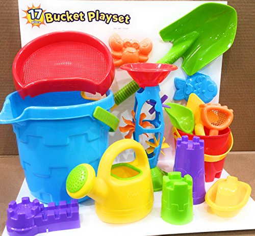 Made For Fun Sand & Water Bucket Playset