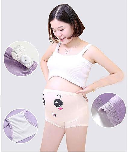 mama stadt 2 Pack Umstandsw/äsche Schwangerschaft Unterhose Shorts Umstandsslip Seamless Umstandsdessous Niedrige Taille