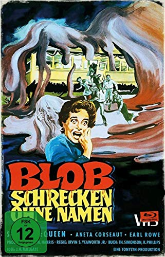 Blob – Schrecken ohne Namen – Limited Collector's Edition im VHS-Design [Blu-ray] [1958]