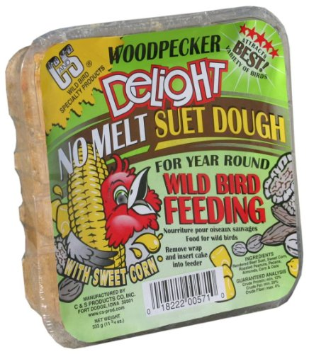 C and S Products Woodpecker Delight, 12-Piece, My Pet Supplies