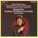 Michala Petri: Recorder Concertos of Handel, William Babell, John Baston, Gordon Jacob (Philips)