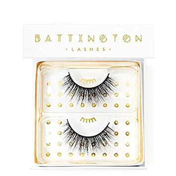 261aac555ff Image Unavailable. Image not available for. Color: Battington Lashes 3D Silk  ...