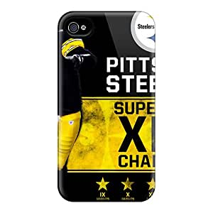 Durable Protection Pittsburgh Steelers Cases Covers For Iphone 4/4s