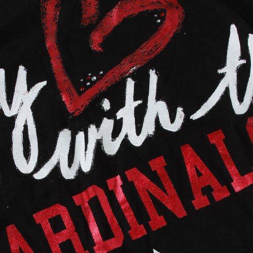 545a6aa9fe4cd Amazon.com : NFL Arizona Cardinals Maternity Fashion T-Shirt - Black  (Large) : Sports Fan T Shirts : Sports & Outdoors