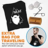 The Neat Guy 5-PIECE Beard Catcher Kit with Beard