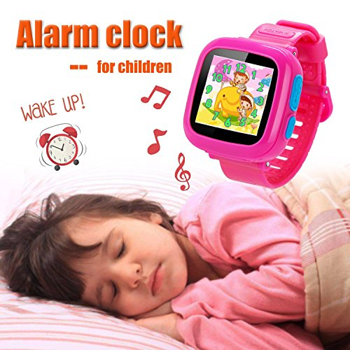 GBD Game Smart Watch Kids Children Boys Girls Gift Travel Camping Camera 1.5'' Touch 10 Games Pedometer Timer Alarm Clock Learning Toys Wrist Watch Bracelet Health Monitor Summer Vacation by GBD (Image #6)