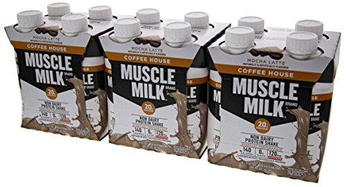 Cytosport Muscle Milk Coffee RTD Mocha Latte 12/11oz