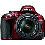Nikon D5200 AF-S DX 18-55mm f/3.5-5.6 VR II Kit, Red
