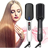 BQYPOWER Hair Straightener Iron Brush
