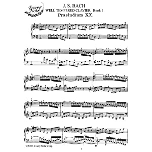 Bach, J.S. Book II: Prelude and Fugue No. 16: Instantly download and print sheet music J.S. Bach