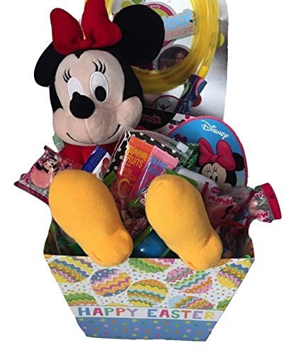 Combined Easter Basket Featuring Minnie Mouse and Outside Fun ()
