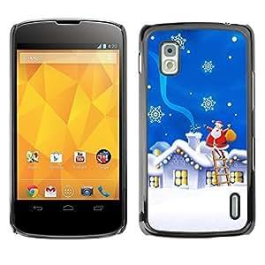 YOYO Slim PC / Aluminium Case Cover Armor Shell Portection //Christmas Holiday Santa Gifts 1116 //LG Google Nexus 4