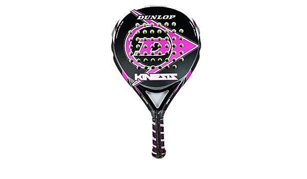 Dunlop Kinesis Pala de Padel, Negro-Fucsia: Amazon.es: Deportes y aire libre