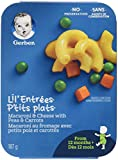 GERBER LIL'ENTRÉES Macaroni & Cheese with Peas & Carrots, 8 x 187 g (Pack of 8)