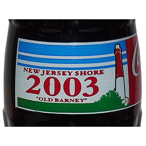 New Jersey Shore 2003 Old Barney Lighthouse Coca-Cola Bottle from Coca-Cola