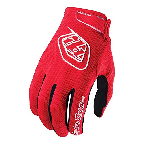 Lee Jersey Gloves - Troy Lee Designs Air Gloves MX/ATV/BMX/MTB Red Youth Size L
